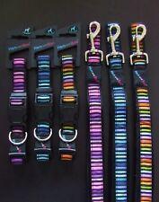 Hem & boo stripes nylon clip collier de chien ou rembourré poignée de plomb-nuts about mutts