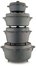 Petromax Feuertopf Dutch Oven Gusseisen Topf - 2,3 - 14,7 Liter MIT Füßen