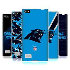 OFFICIAL NFL CAROLINA PANTHERS LOGO SOFT GEL CASE FOR BLACKBERRY PHONES