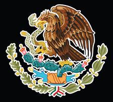 Mexican Flag Eagle Aguila Decal Car Window Laptop Map Vinyl Sticker MX Escudo