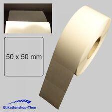 Verschlussetiketten - transparent - 50 x 50 mm - 2000 Stück