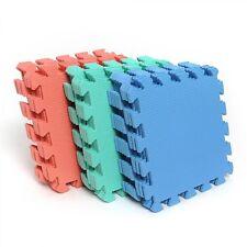 Exercise Puzzle Foam For Kids Room Floor Mat Sports Gym Yoga Area Carpet 9 Pcs