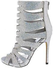 Rhinestone ankle boot Stiletto Booties High Heel Pumps Sandals Gladiator H173