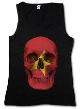Classic Vietnam Skull Flag donna Tank Top Bandiera Banner cranio