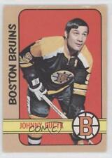 1972-73 O-Pee-Chee #1 John Bucyk Boston Bruins Hockey Card