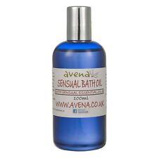 Sensual and Aphrodisiac Bath Oil. 100% Essential Oil Relaxing Bath Oil by Avena
