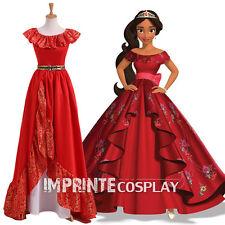 Adulto Principessa Elena Abito Principessa di avalor Cosplay Costume GRATIS P&P