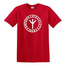Algiz Rune T-shirt - S to 6XL - Norse Odin Viking Valhalla Thor