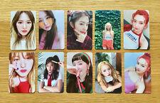 Red Velvet The Red Summer Red Flavor Official Photocard 10pcs Full Set