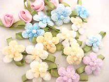 10ps Lindo Tejer Coser apliques de flores Ropa Linda Flor Recorte de horquilla