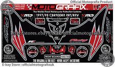 Honda CBR900RR RRT RRV 06 - 07 Front Number Board Motografix 3D Gel Protector