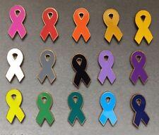 Awareness Ribbon Lapel Pin Cancer Support USA MADE