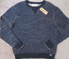 RALPH LAUREN (Denim/Blue) PREMIUM Cotton Crewneck Sweatshirt Men's NWT $98