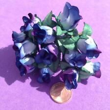 Hyacinth Paper Flowers (lg), Roses, Embellishments, Wedding Craft Job Lot
