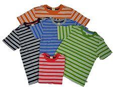 Scout + Ro Boys' Soft 100% Cotton Crew Neck Short Sleeve Stripe Tee T-Shirt