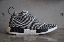 Adidas NMD City Sock CS1 PK Primeknit - Black/White 7 UK