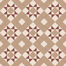 Olde English Monteith 70 Victorian Style Interior/Exterior Geometric Floor Tiles