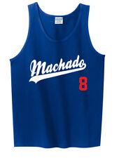 "Manny Machado Los Angeles Dodgers ""Logo""  TANK-TOP"