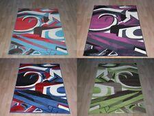 Quality Large Rugs 150cm x 100cm graffiti Art Bright Colours 8 Designs Area Rug