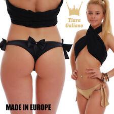 Brazilian Thong Bikini Bottoms S M L XL TIARA GALIANO 503 Swimwear 2017 Europe