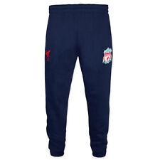 Liverpool FC - Pantalón fitness ajustado - Niño - Forro polar - Producto oficial