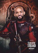 Suicide Squad Film Posters  - Deadshot - Option 2 - A3 & A4
