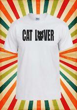 Cat Lover Paw Cute Animal Funny Cool Men Women Vest Tank Top Unisex T Shirt 901