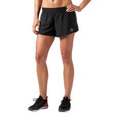 Women's Reebok Les Mills 3IN Short Gym Sports Training Black Wicking