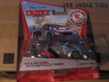 Disney Pixar Cars 2 MAX SCHNELL W/ METALLIC FINISH Kmart Days 9