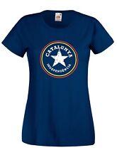 T-shirt Maglietta donna J2305 Catalunya Indipendecia Star Catalogna Indipendenza