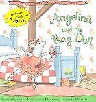 Angelina Ballerina & Rag Doll w/ DVD (2004 Hardcover) New - never cracked open