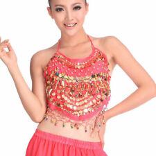 C91611 danza vientre disfraz sujetador opaca belly Dance Top