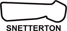 X2 circuito di Snetterton 200 PISTA contorno Vinile Decalcomanie Adesivi Grafica