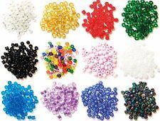 Craft fábrica de vidrio e Cuentas 4mm Coser Tejer Molduras Telar De Pulseras 7gm Pack