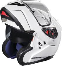 Castle Atom SV Modular Helmet Pearl White