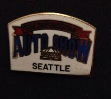 Seattle International Auto Show 1992 Pin Pinback Hatpin Lapel Pin Kingdome