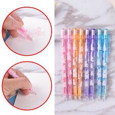 3pcs 0.5/0.7mm Cute Mechanical Automatic Pencil Eraser School Writing SupplieH&P