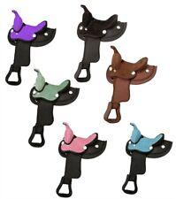 8 Inch Miniature Horse Western Saddle - Suede Seat - Cordura - 4 Colors