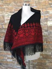 Embroidered Scarf Jordanian Palestinian Wrap Shawl Scarf Bedouin