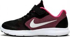 Scarpe sportive bimba Nike Revolution 3 PS 819417-001 Nero-Rosa Mesh