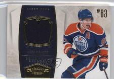 2010-11 Panini Dominion Jerseys Memorabilia #38 Ales Hemsky Edmonton Oilers Card