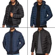 Mens Bubble Jacket Padded Puffer Bubble Down Zip Up Winter Coat Warm Outerwear