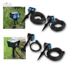 prise électrique de jardin 2 FOIS 4 pièces, MINUTERIE MINUTEUR, IP44, Epi
