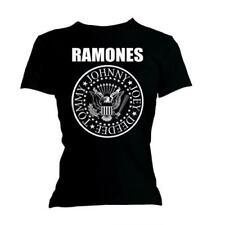 Ramones ' SEAL ' Camiseta entallada de mujer - Nuevo & Oficial!