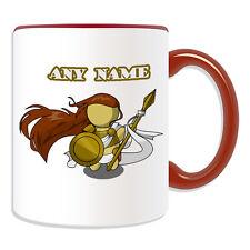 Personalised Gift Athena Mug Money Box Cup Fairy Tale Name Message Goddess Greek