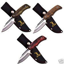 MC Elk Ridge Taschenmesser Klinge feststehend Jagdmesser Gürtelscheide Messer