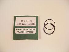 ¡ nuevo! 3x Reloj O Anillo Sellos Empaques Para Rolex 29-210-124 caso Espalda P5a