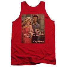 Cry Baby Kiss Me Mens Tank Top Shirt