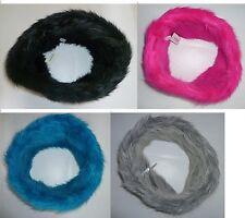 Womens AEROPOSTALE Aero Infinity Faux Fur Scarf NWT $34.50 #9382