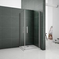 Duschkabine Duschwand 2xDrehtür Schwingtür Duschabtrennung Duschtasse Dusche PK1